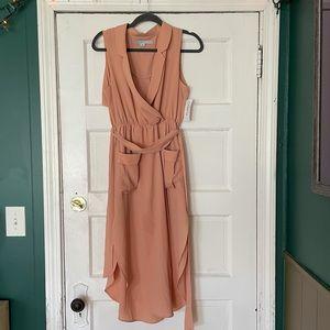Peach Hypve sleeveless dress